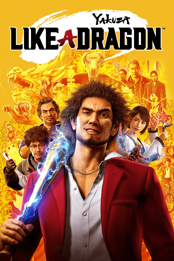 Обложка Yakuza Like A Dragon