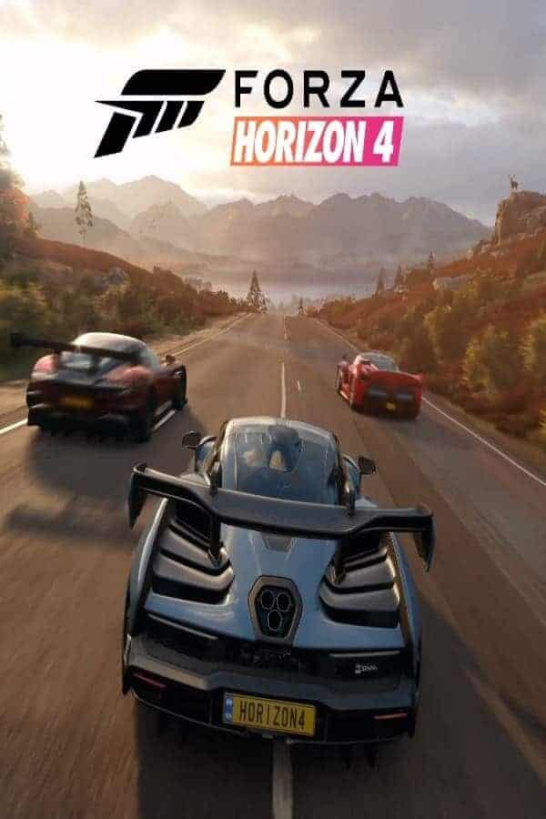forza horizon 4 cover art