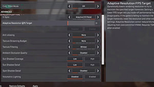 Apex Legends FPS Artırma