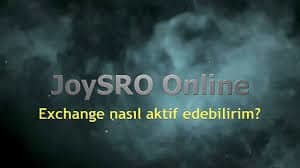 Joysro Exchange Nasıl Yapılır?